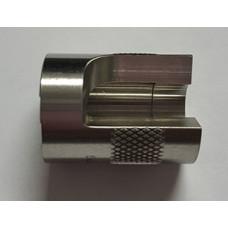 Sheridan Engineering 40 S&W Caliber Slotted Ammunition Gauge