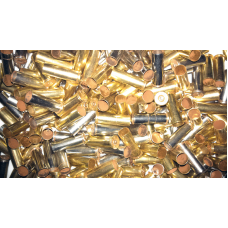 Mixed Headstamp Cleaned Nickle 38 Special Casings 100 count