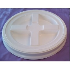 The Gamma Seal® Lids for 12 inch Diameter Bucket - White