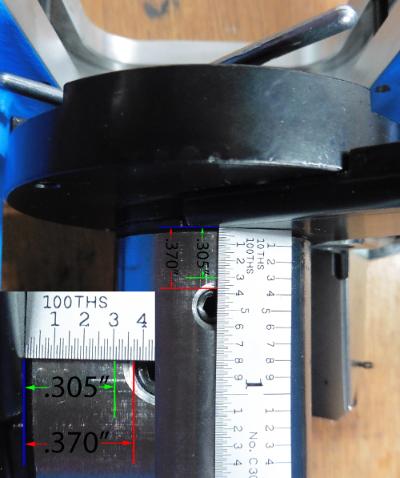 Extra Length Shellplate Bolt for Dillon 450/550